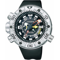 Relógio Citizen New Aqualand 200m Diver Bn2021-03e