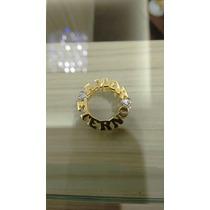 Nelcy Joias Mandala De Nome Dupla Ouro 18k Com 10 Zirconias