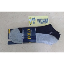3 Pares Calcetines Tines Polo By Ralph Lauren Originales