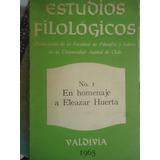 Estudios Filologicos Revista Universidad Austral Chile N° 1