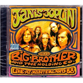 Janis Joplin Big Brother : Live At Winterland 68 Cd Lacrado