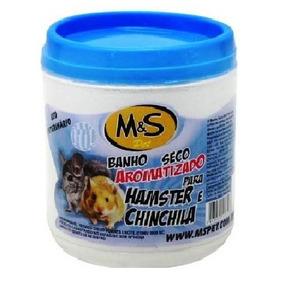 Pó De Mármore. Banho Seco Perfumado P/ Hamster, Chinchila...