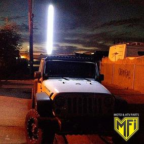 Antena Led Ford Ranger 90 Cm Blanca Mfi Camionetas