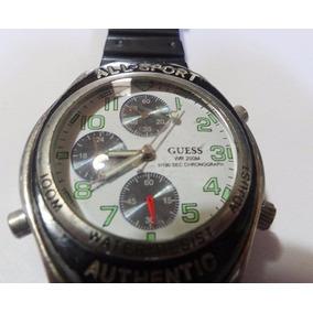 Reloj Guess Wr 200m 1/100 Sec Chronograph