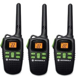 3 Radios Comunicadores Motorola Talkabout Md200 32km Novo