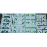 10 Cartelas 100 Adesivos Artesanais Feitos Mão Varios Modelo