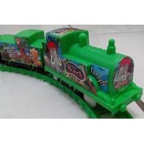 Trem Elétrico Locomotiva Produto Novo Na Caixa Barato