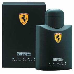 Perfume Ferrari Black 75ml - Com Selo Da Ferrari Original