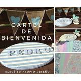 Carteles Con Nombres Decorativos 4/5 Letras