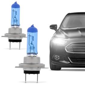 Par De Lampada Super Branca Automotiva H7 8500k
