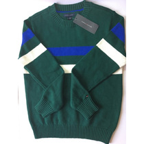 Suéter Algodón Tejido Marca Tommy Hilfiger - Niño