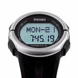 Skmei Reloj Pulsómetro/ritmo Cardíaco/cuenta Pasos/calorías/
