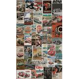 Papel De Parede Adesivo Racing Vintage 0,58 X 3,00m