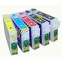 Cartuchos Rellenables Reseteables Para Epson T22, Tx130, Etc