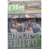 Diario Deportivo Ole. San Lorenzo Gana Supercopa Ante Boca.