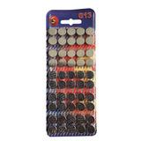 Bateria Pilha Relógio Ag13 Lr44 Sr154 A76 Original 50pç 1,5v