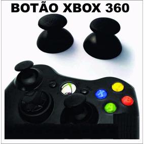 Botao Analogico Controle Xbox360 (unidade)- Original - Preto