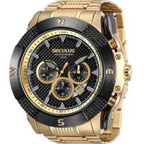 Relógio Seculus Masculino Cronograph 20365gpsvda2