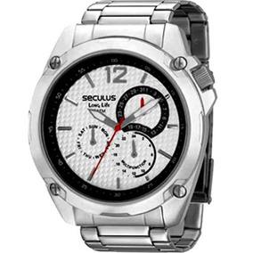 Relógio Seculus Masculino Urbano Long Life 28165g0spna1