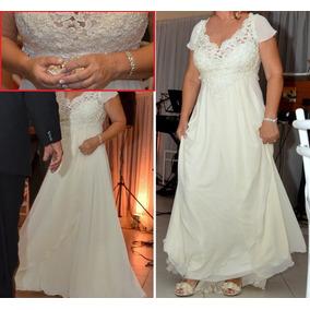 Vestido De Noiva Cor Pérola
