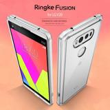 Funda Case Ringke Fusion Para Lg V20 Combo Bumper + Mica