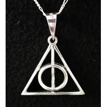 Dije De Las Reliquias De La Muerte Harry Potter En Plata