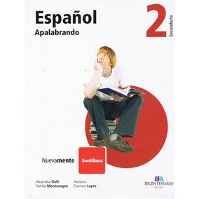 Apalabrando - Idioma Español 2 Editorial Santillana