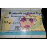Entrada Independiente 2 Boca 2 Torneo Apertura 93