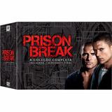 Dvd Box Prison Break - Completa + O Resgate Final - 23 Disco