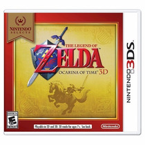 The Legend Of Zelda Ocarina Of Time Nintendo 3ds-xl-2ds
