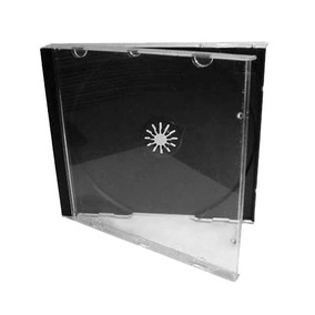 Cajas Acrilicas Jewell Para Cd Y Dvd X 100u. Maxima Calidad