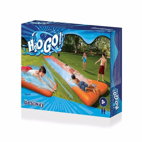 Pista Doble Deslizable Inflable H2o Bestway #52199 - Giro To