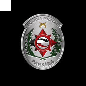 Novo Brasão Policia Militar Da Paraíba Emborrachado