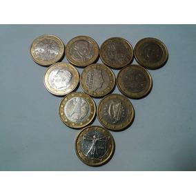 Moeda De 1 Euro Diversos Complete Sua Coleção