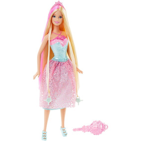 Boneca Barbie - Princesa Cabelos Longos Loira Dkb60