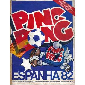 Álbum Copa Do Mundo Da Espanha 1982 Ping Pong - Scaner (d02)