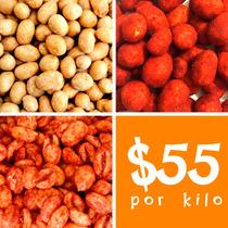 10 Kilos De Gomitas Y Cacahuates. Para Fiestas Y Negocio