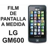 Film Protector De Pantalla A Medida De Lg Gm600 Scarlet 2