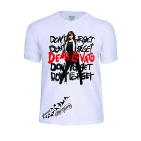 Camisas Camisetas Demi Lovato Lovatic Personalizada Lindas