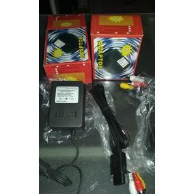 Kit 10 Fontes 220volt + 10 Cabos Av Super Nintendo Snes Baby
