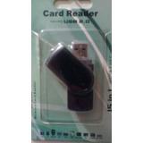 Card Reader Usb 2.0 ( Leitor Adaptador De Cartao Micro Sd )