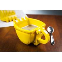 Taza P Café Digger Mug Construccion Excavadora Mano Chango