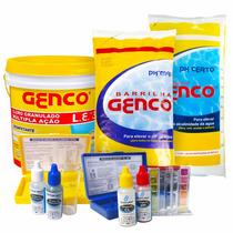 Cloro Genco 2,5kg Kit Reagentes Teste Barrilha Alcalinidade