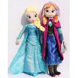 Frozen 2 Peluches Anna Y Elsa 40 Cm