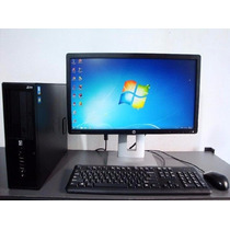 Computadora Completa 4gb Ram/ 500gb Hdd / Dual