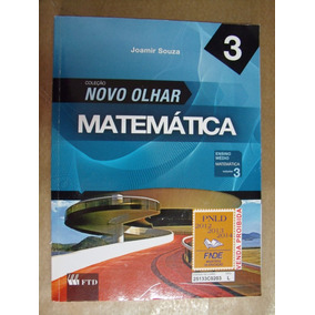 Matematica Novo Olhar 3 Joamir Souza Livro Otimo Estado