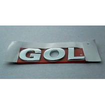 Emblema Logotipo Gol G5/g6 Cromado Original Volkswagen