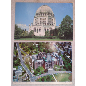 Postales Cataratas Niágara Templo Baha