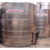 Tanque De Agua Acero Inox Milenios 5000 Lts+ Tapa Inspeccion