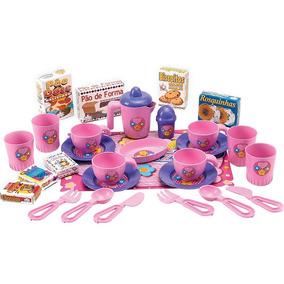 Conjunto De Chicara Infantil Meu Chazinho Brinquedo Menina